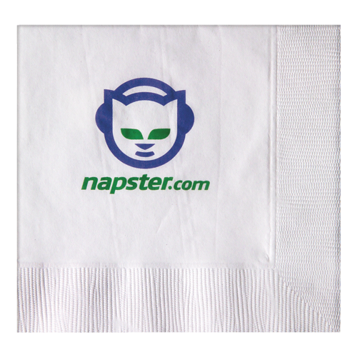 B11 - White 1-Ply Beverage Napkins