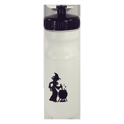BB-22 - 22 oz.Bike Bottle, white w/push-pull lid