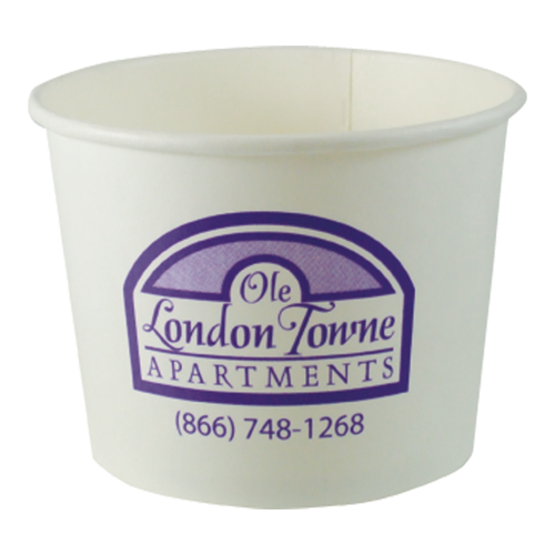 CKDP16 - 16 oz.Paper Dessert Cup