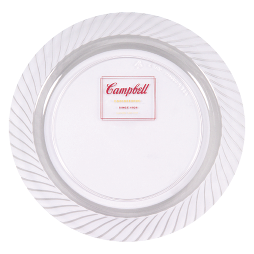 "CWP7 - 7.5"" Clear Plastic Plates"