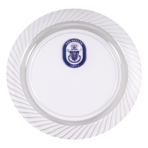 "CWP9 - 9"" Clear Plastic Plates"