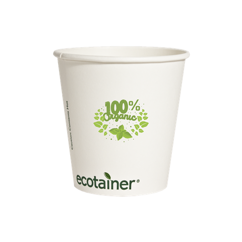 ET-10 - 10 oz. Compostable Paper Hot Cup