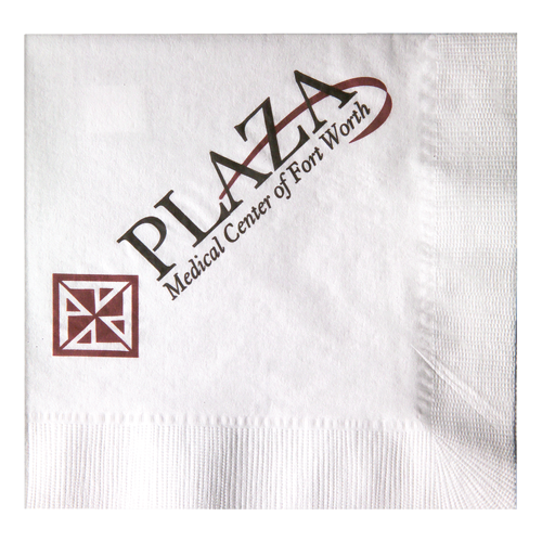 L31 - White 1-Ply Luncheon Napkins