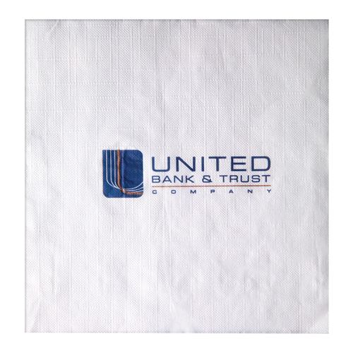 LE3 - White 1-Ply Luncheon Napkins