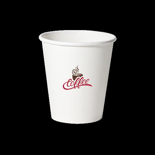 PC10S-OS - 10 oz.Squat Paper Hot Cup
