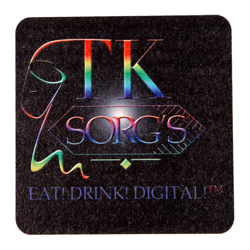 "SC64SQD - DIGITAL PRINTED 60 pt. 4"" High Density Pulp Board Coasters- SQ"