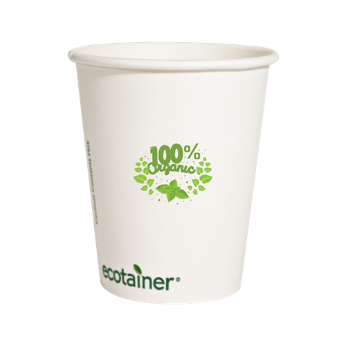 ET12-OS - 12 oz.Compostable Paper Hot Cup