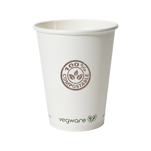 VW12-OS - 12 oz.Compostable Paper Hot Cup