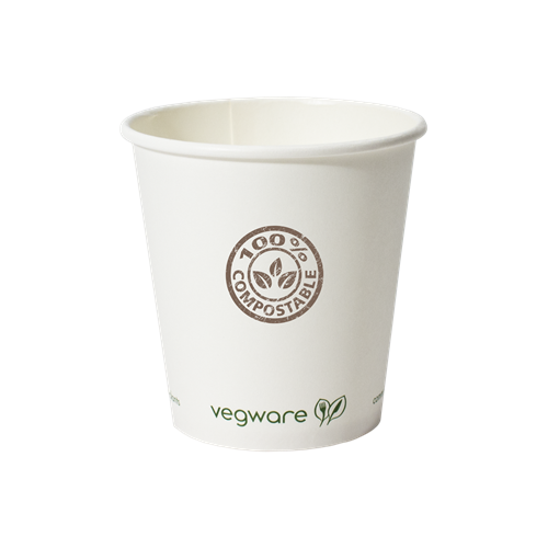 VW-10 - 10 oz. Compostable Paper Hot Cup