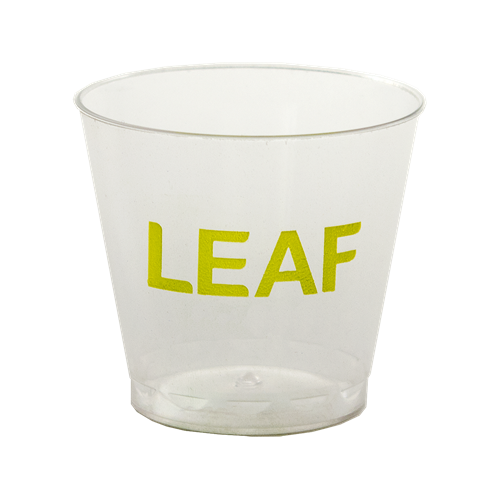 WSG1 - 1 oz. Clear Plastic Shot/Sampling Cup