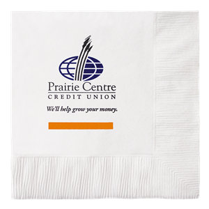 White 1-Ply Beverage Napkins