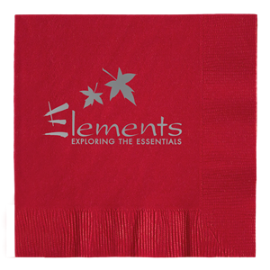 Deep-tone Colored 2-Ply Beverage Napkins