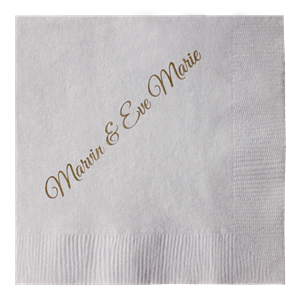 Light Tone Colored 2-Ply Beverage Napkins