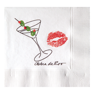White 3-Ply Beverage Napkins
