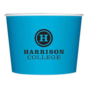 Colored 12 oz. Paper Dessert Cup