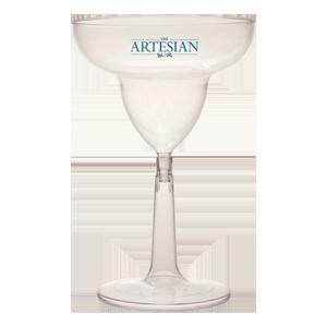 12 oz. Clear Margarita Glass (2 Piece)