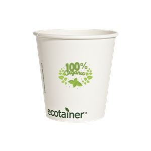 10 oz. Compostable Paper Hot Cup