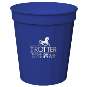 16 oz. Tall Fluted Cup Royal Blue SPECIAL ORDER