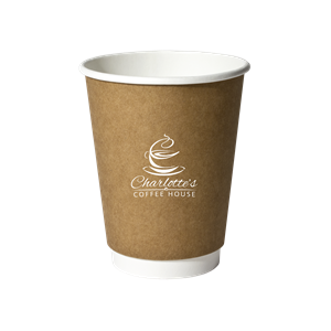 12 oz. Kraft Insulated Paper Cup