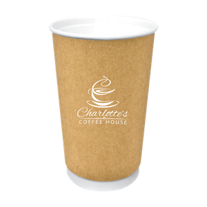 16 oz. Kraft Insulated Paper Cup