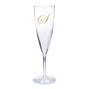 6 oz. Clear Champagne Flute (1 Piece)