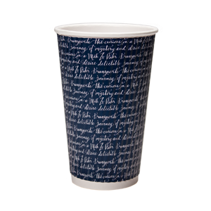 16 oz. Rippled Insulated Paper Cup