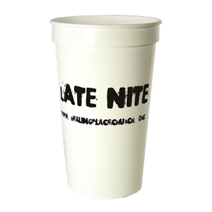 22 oz.Smooth White Cup