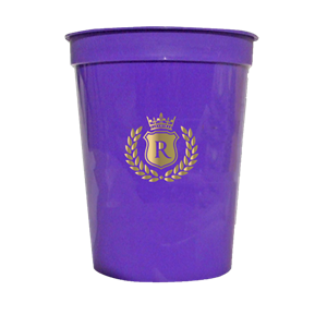 12 oz. Smooth Purple Stadium Cup SPECIAL ORDER