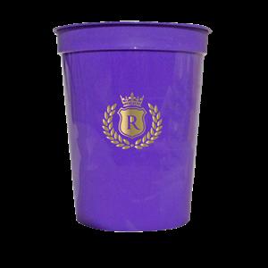 12 oz.Smooth Purple Stadium Cup SPECIAL ORDER
