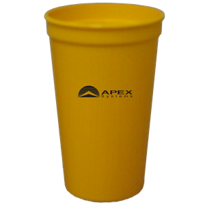 22 oz. Smooth Yellow Gold Stadium Cup SPECIAL ORDER