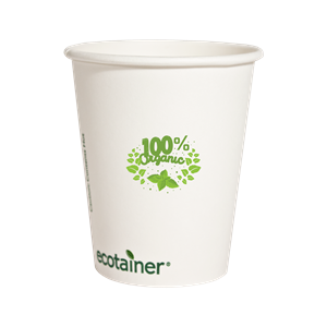 12 oz.Compostable Paper Hot Cup