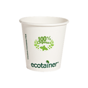 4 oz.Compostable Paper Hot Cup