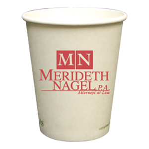8 oz.Compostable Paper Hot Cup