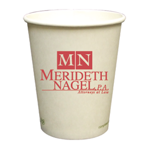 8 oz. Compostable Paper Hot Cup