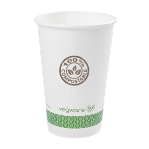 16 oz. Compostable Paper Hot Cup