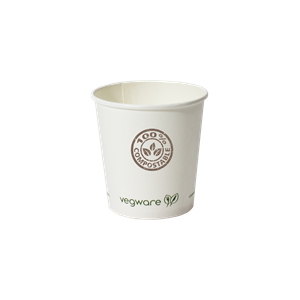 4 oz. Compostable Paper Hot Cup