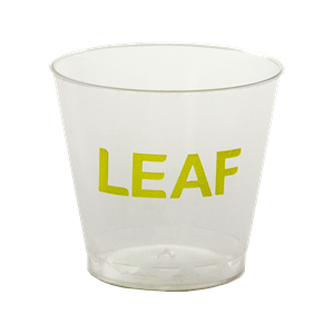 1 oz. Clear Plastic Shot/Sampling Cup