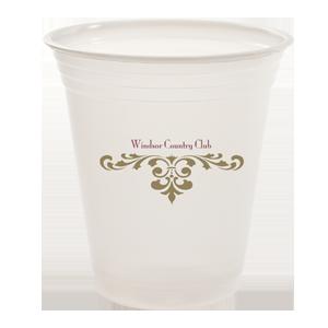 12 oz.Translucent Plastic cup