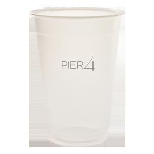 24 oz. Translucent Plastic Cup
