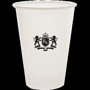 24 oz.Translucent Plastic Cup