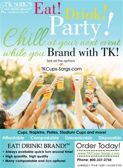 Eat! Drink! Party! Brand With TK!
