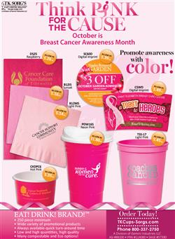 TKCups October is Breast Cancer Awareness Month